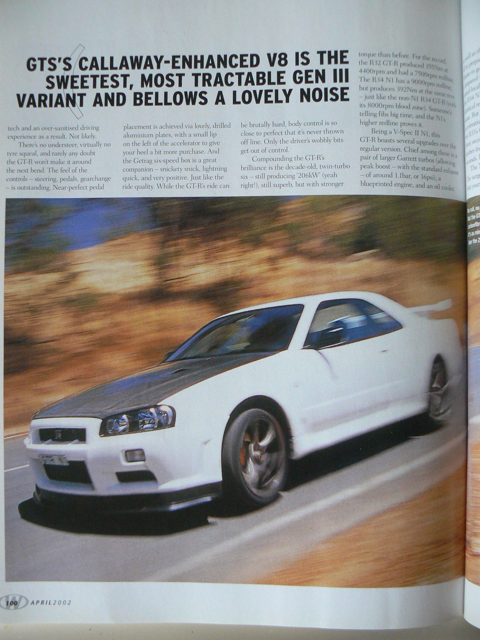 GTR-Registry.com - Nissan Skyline R34 GT-R Magazine Articles